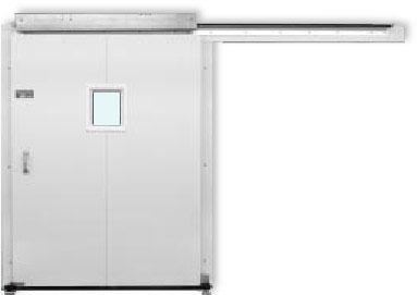 Retail Pro™ Single Leaf Manually Operated Horizontal Sliding Door